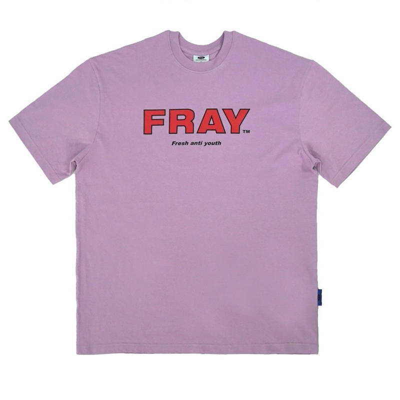 【Fray】FRAY BIG LOGO T-SHIRTS PEACH