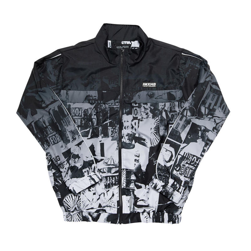 【IMXHB】TORN PICTURES TRACK JACKET - O/C