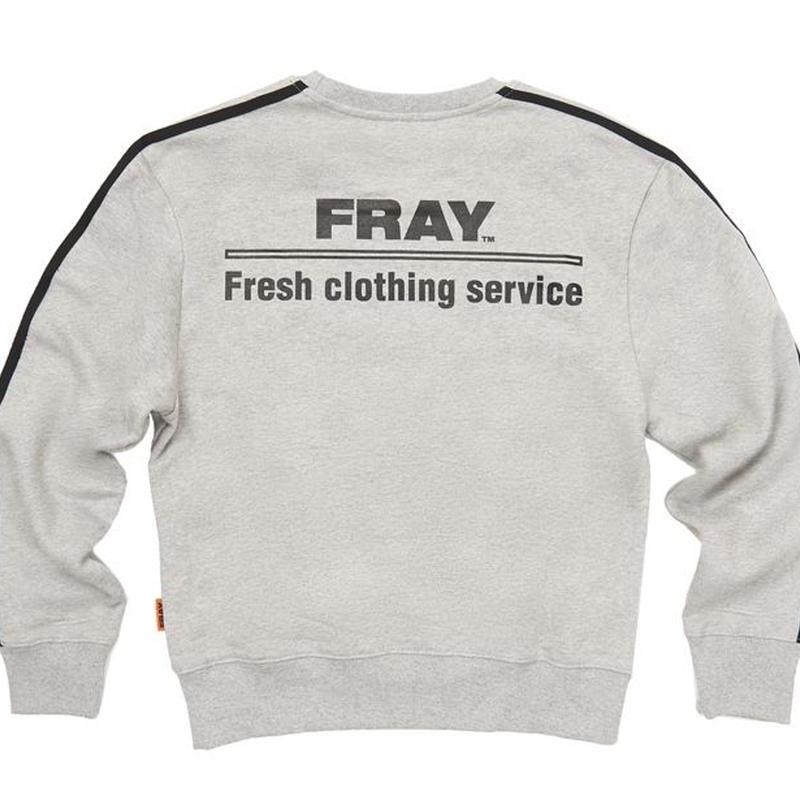 【Fray】FRESH CREWNECK SWEATER GRAY