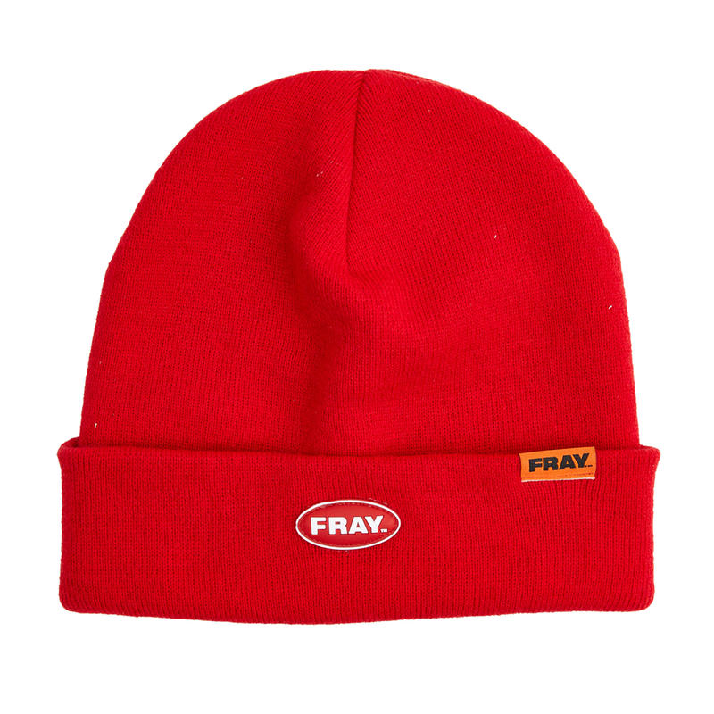 【Fray】FRAY BEANIE  RED