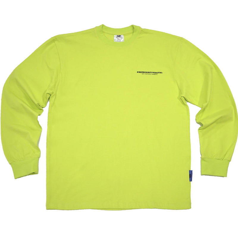 【Fray】FRESH LONG-SLEEVE T SHIRTS NEON