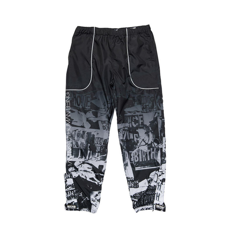 【IMXHB】TORN PICTURES TRACK PANTS - O/C