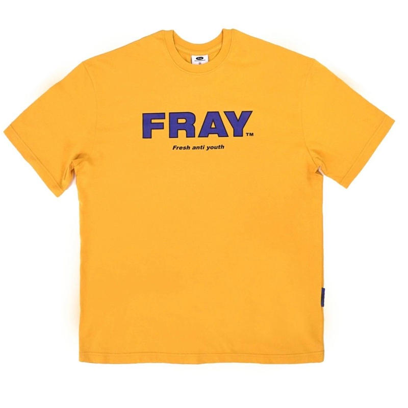 【Fray】FRAY BIG LOGO T-SHIRTS Mustard