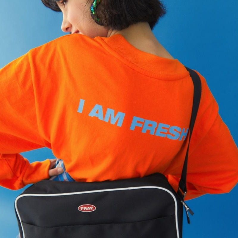 I AM FRESH LONG SLEEVE ORANGE