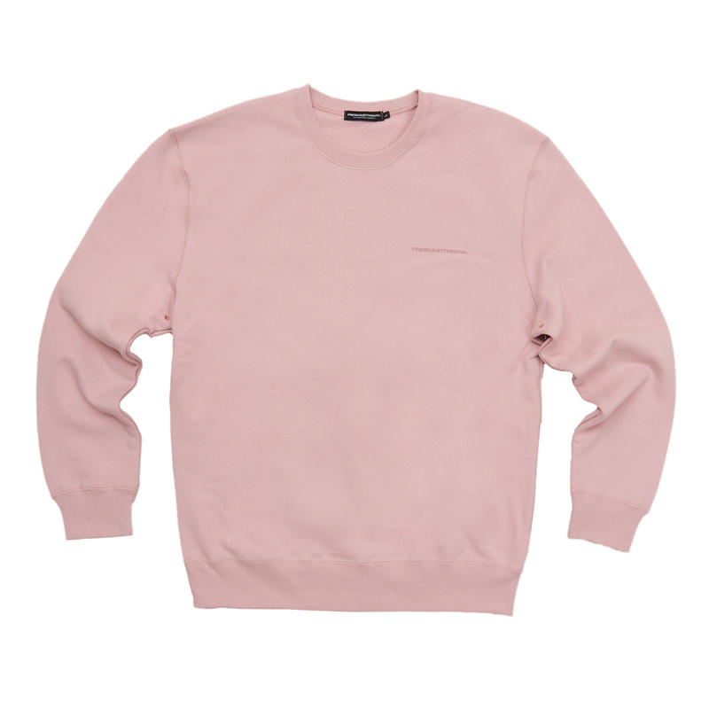 FRESH ANTI YOUTH  CREWNECK SWEATER PEACH