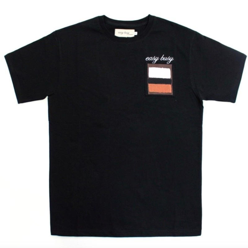 【easy busy】Rothko T-Shirts – Black