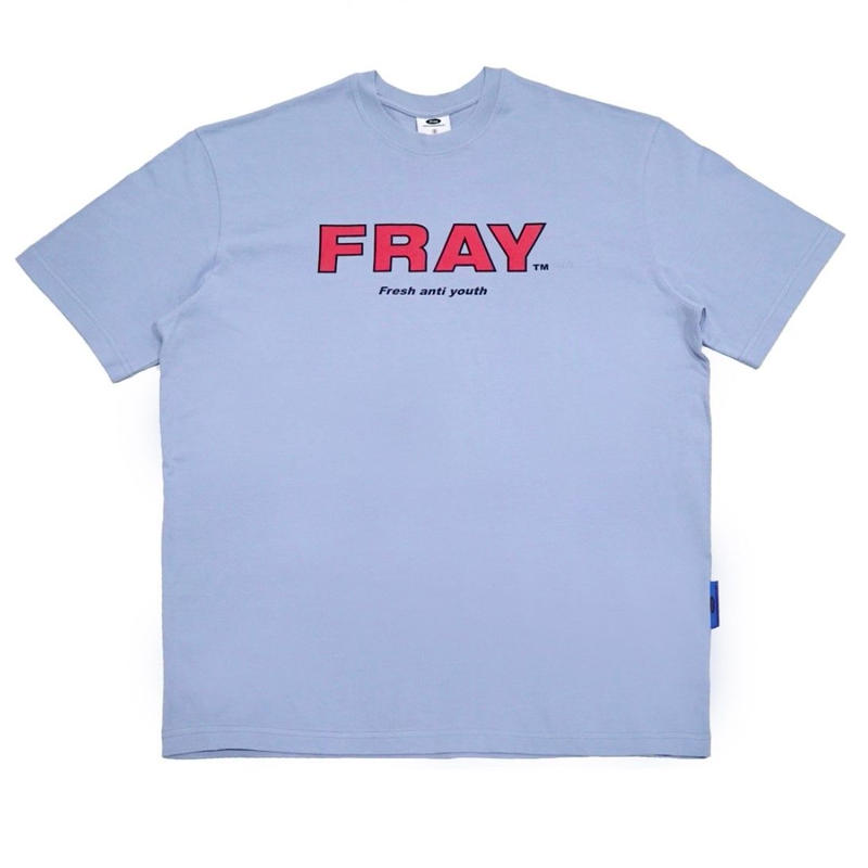 【Fray】FRAY BIG LOGO T-SHIRTS DUST BLUE