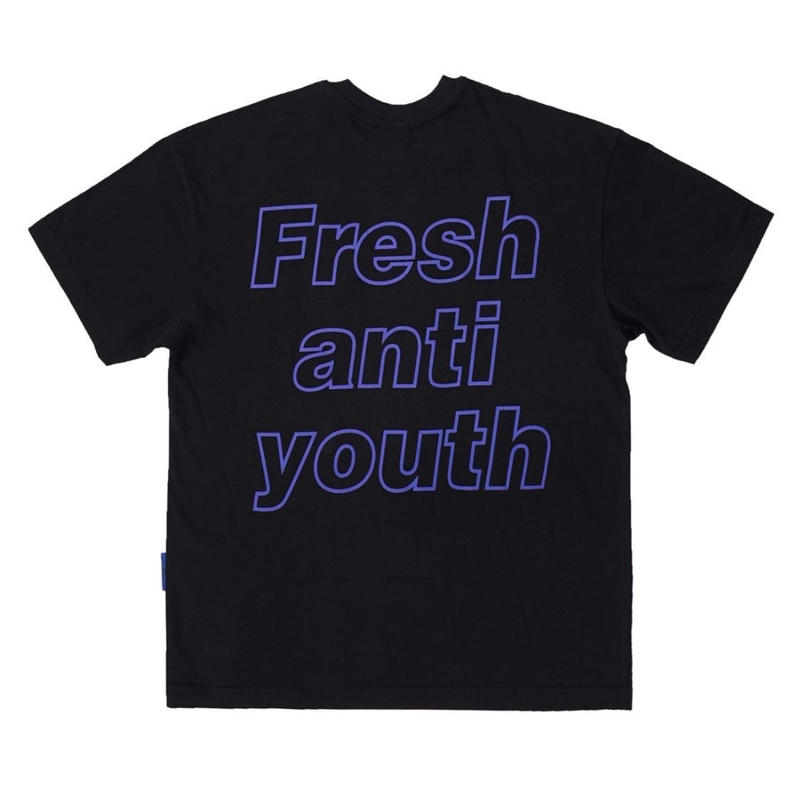 【Fray】I am Fresh T-SHIRTS BLACK