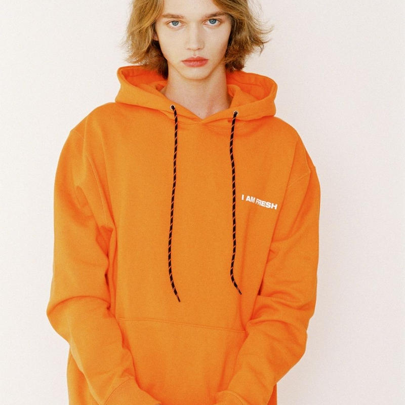 I AM FRESH FULLOVER HOODIE ORANGE