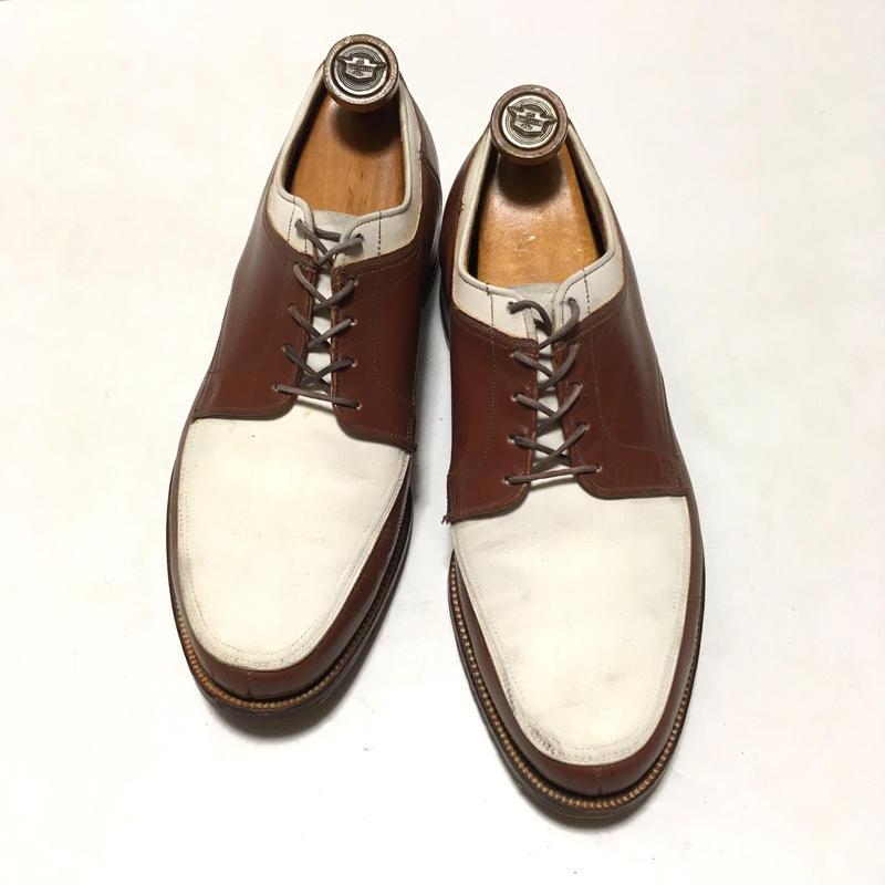 Nunn Bush Ankle Fashioned Spectator Shoes ナンブッシュ スペクテイター