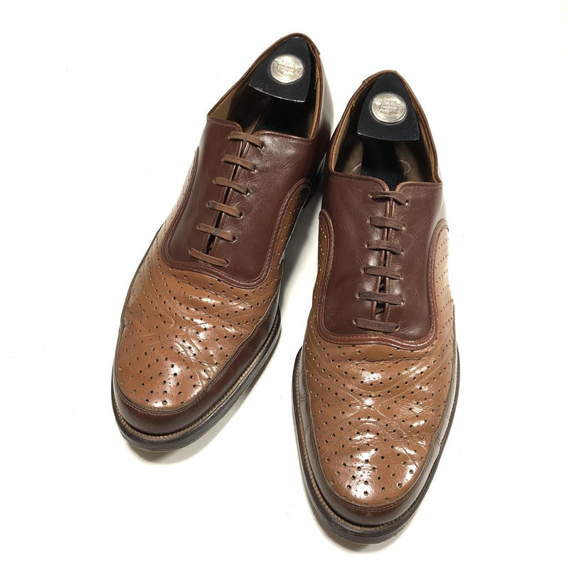 Aristocrat By WEYENBRG Art Deco Ventilated Shoes ビンテージ シューズ