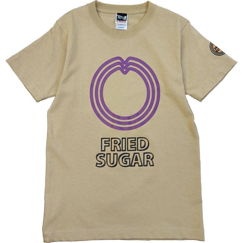 石垣島のサーターアンダギー Tシャツ/ブラウン