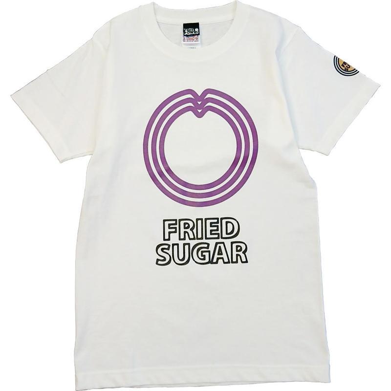 石垣島のサーターアンダギー Tシャツ/ホワイト