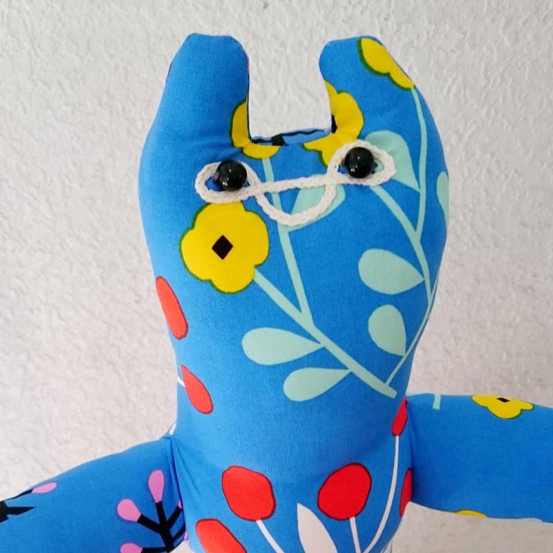 イリオモテヤマネコMAX【ブルー】/ 63cmタイプ【実店舗展示品 現状渡し】