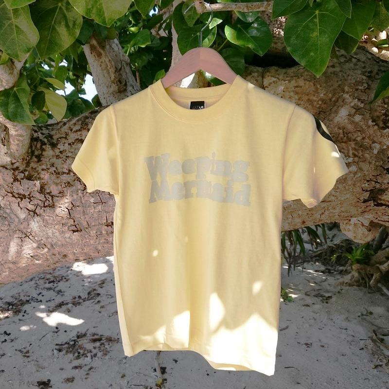 石垣島の人魚Tシャツ・ロゴタイプ / イエロー