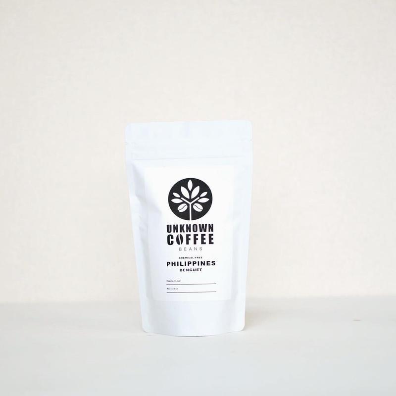 《メール便 送料82円  100gお試しパック》PHILIPPINES BENGUET 無農薬コーヒー【中煎り】 100g