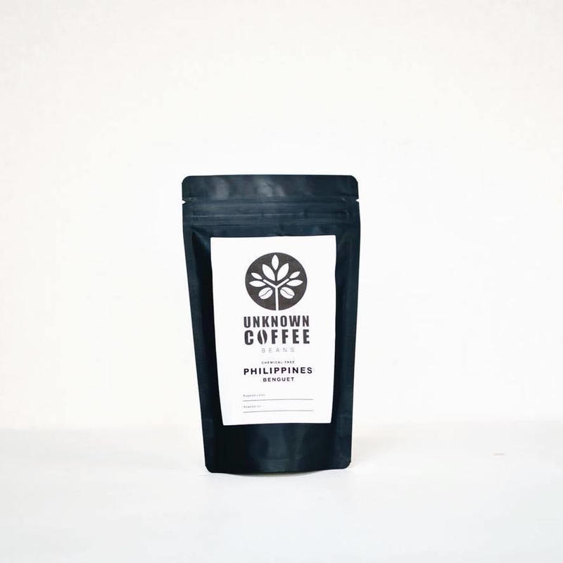 《メール便 送料82円  100gお試しパック》PHILIPPINES BENGUET 無農薬コーヒー【深煎り・アイスコーヒー用】 100g