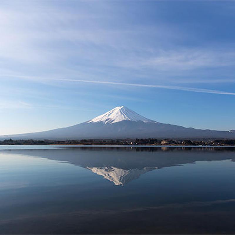 逆さ富士[富士河口湖町]