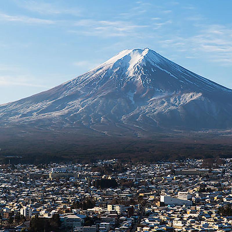 冬 新倉山浅間公園 富士山[富士吉田市]