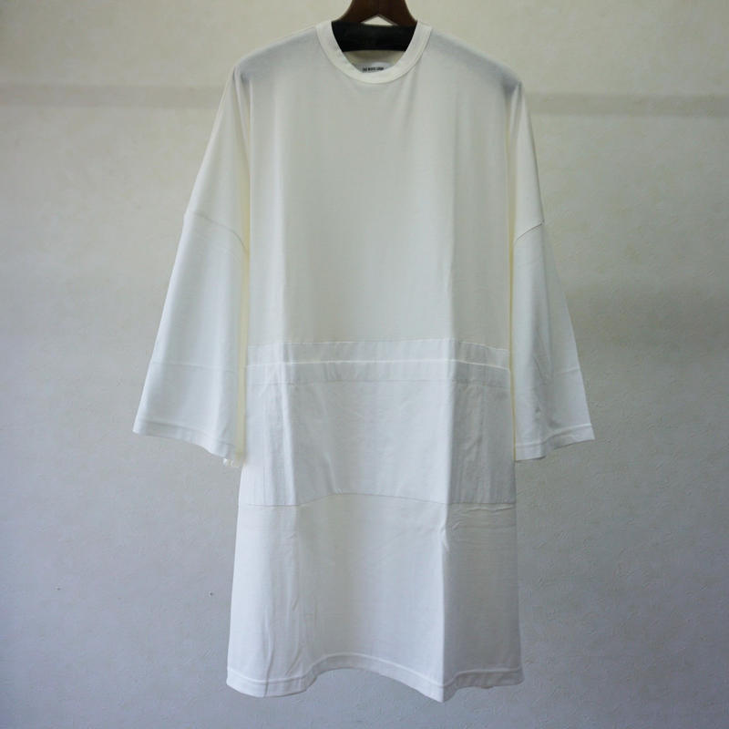 STORAMA BIG APRON T ONE-PIECE(WHITE・M)