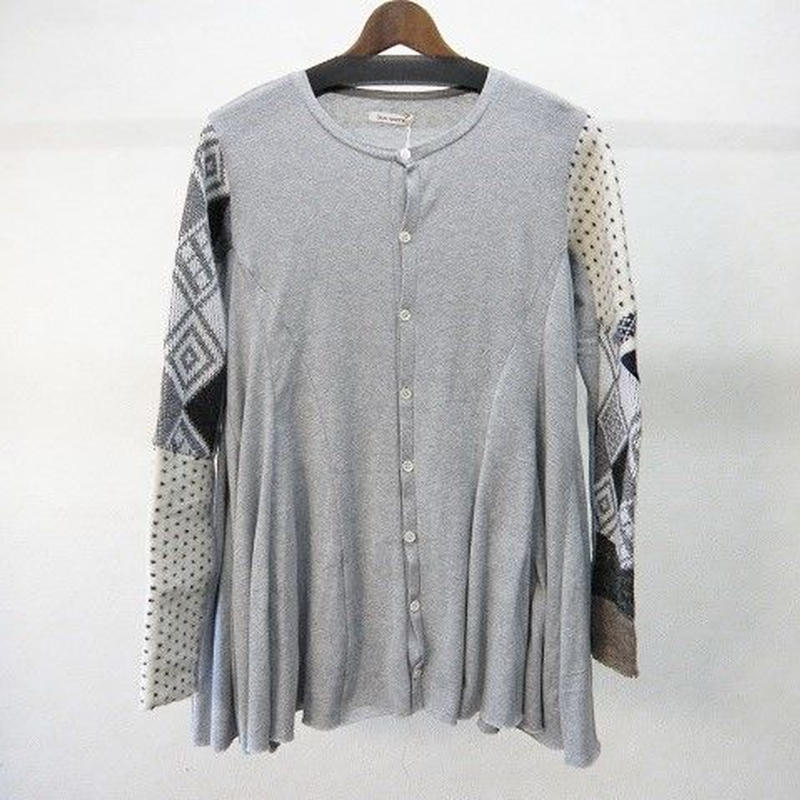 YEAH RIGHT!! knit sleeve flare cardigan