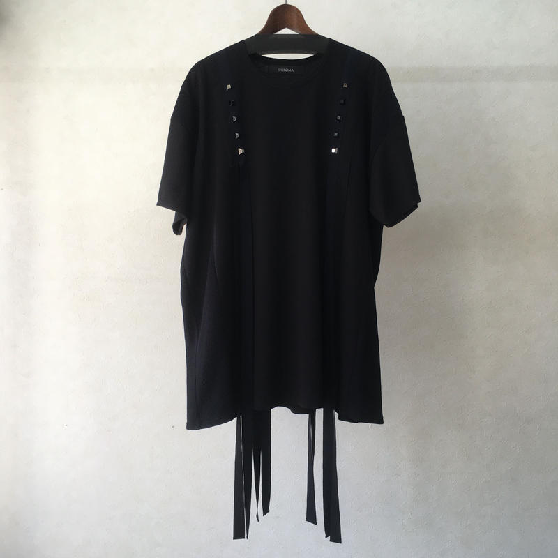 SHIROMA tape big t-shirt