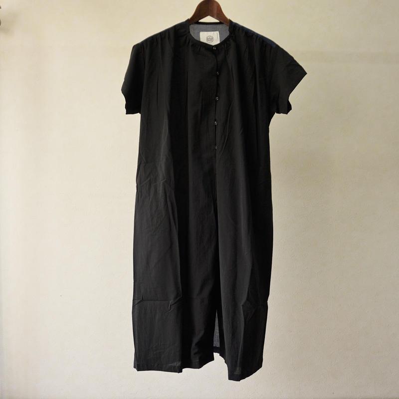 bedsidedrama 境界配色ワンピース(black)