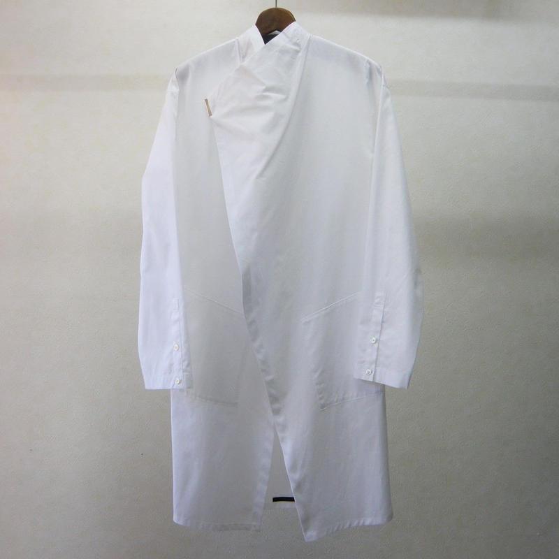ato 綿ブロードロングシャツ