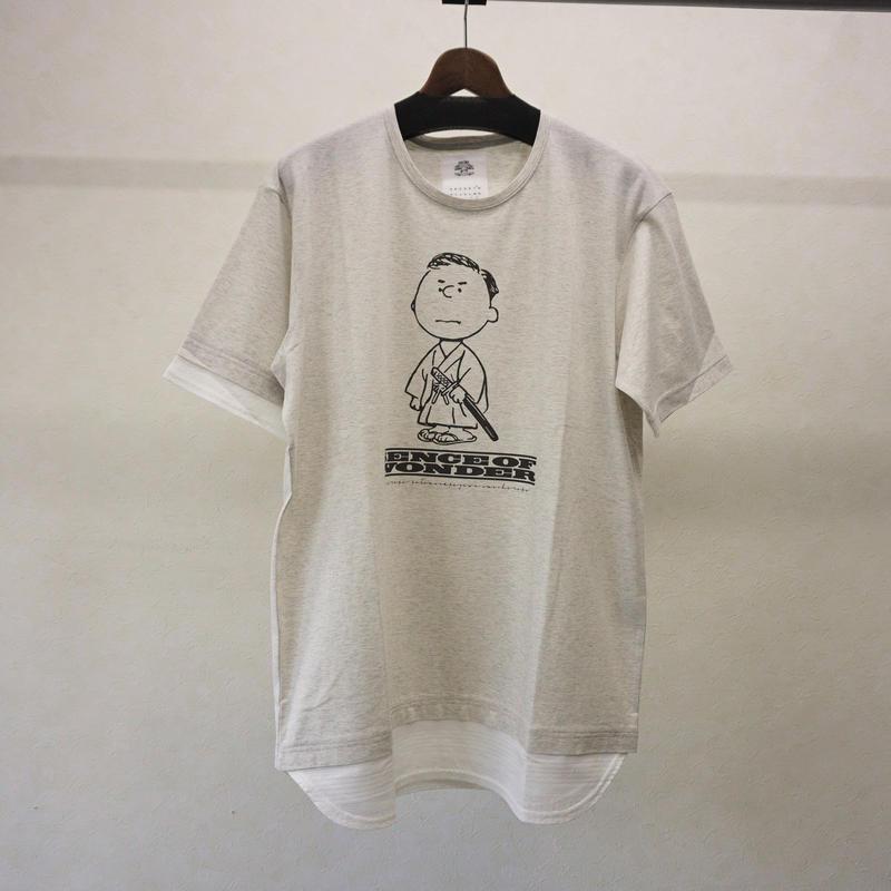stof 奇兵レイヤーTシャツ(WHITE)