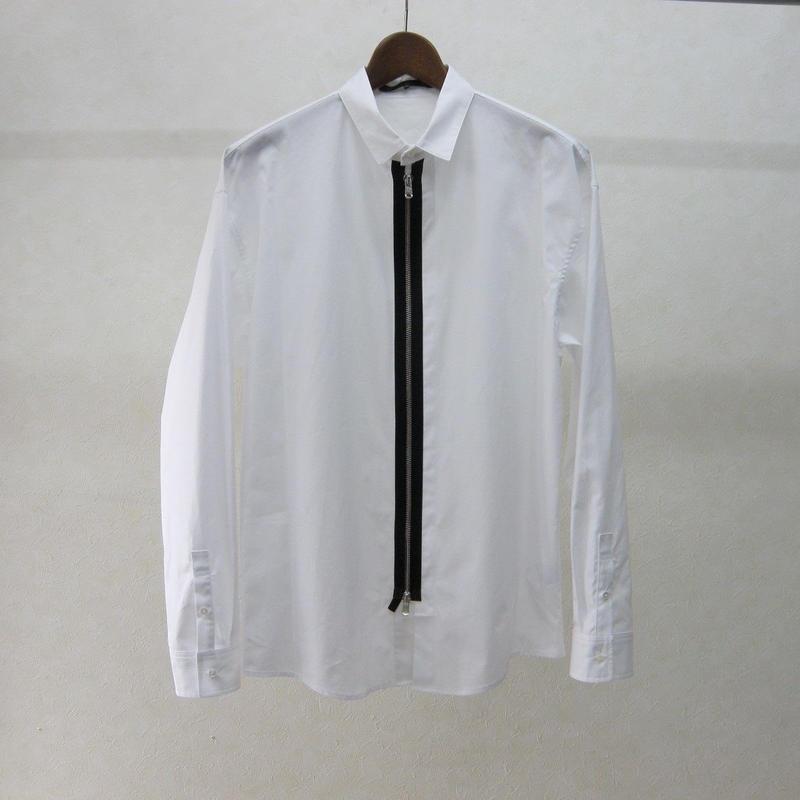 ato ジップシャツ(WHITE)