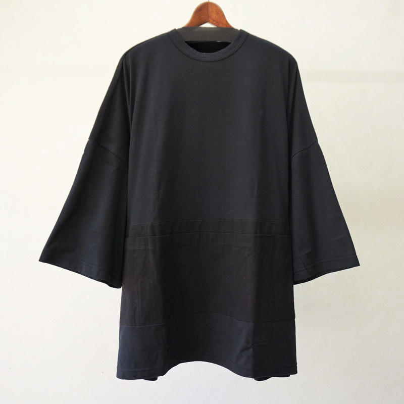 STORAMA BIG APRON T ONE-PIECE(BLACK・S)