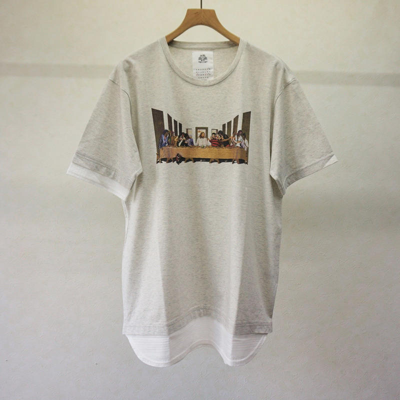 stof LASTレイヤーTシャツ(WHITE)