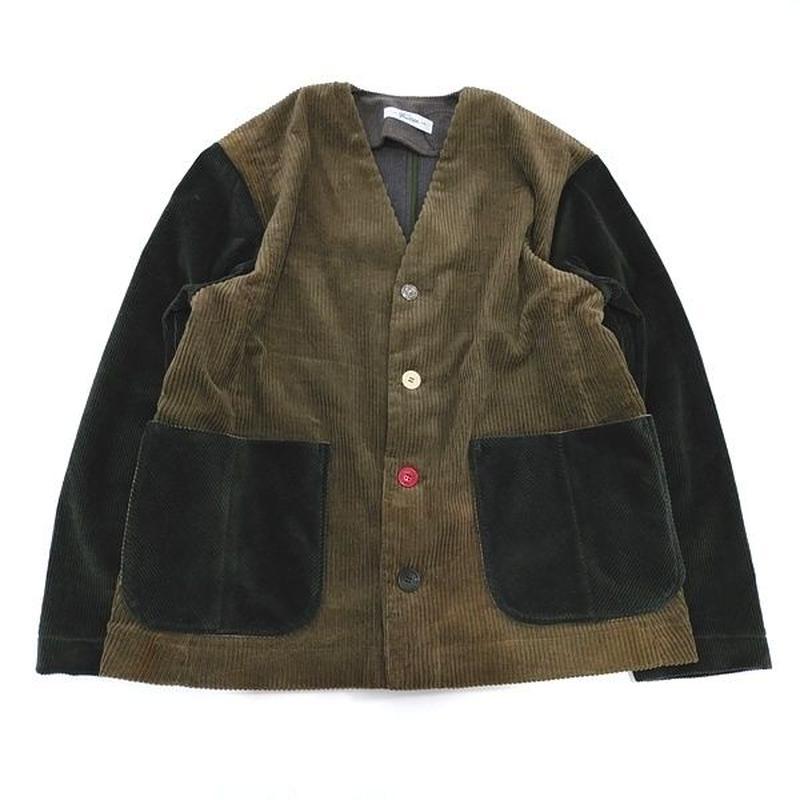 Corduroy Nocollar Jacket②
