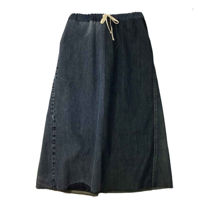 Denim Long Skirt③