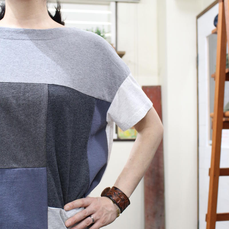 Patchwork Tee-Shirts ⑩/サイズフリー