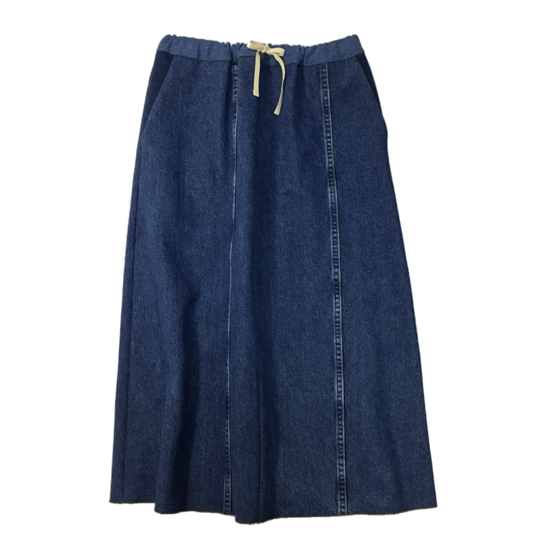 Denim Long Skirt⑤