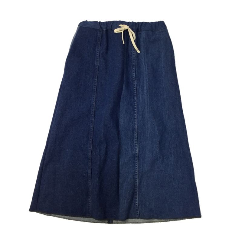 Denim Long Skirt④