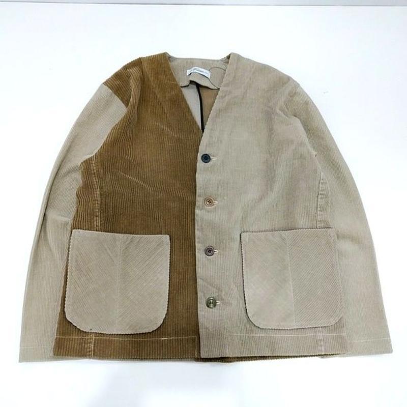 Corduroy Nocollar Jacket④