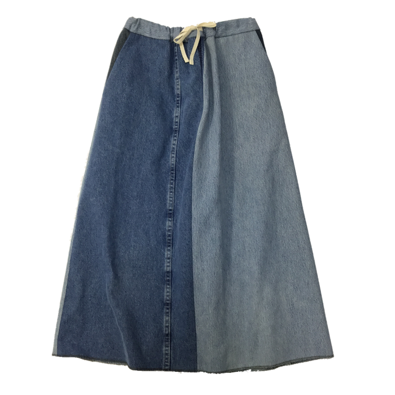 Denim Long Skirt⑥