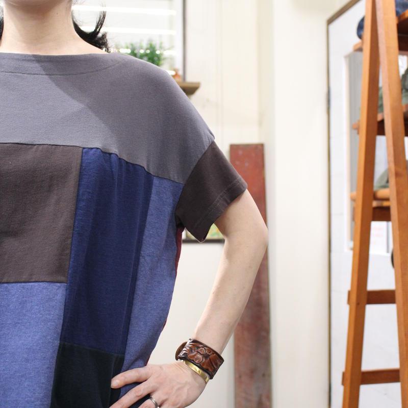 Patchwork Tee-Shirts ⑥/サイズフリー