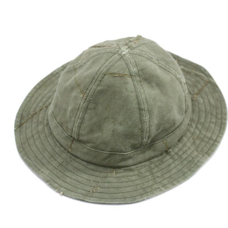 6Panel Fatigue hat / 1940's Tent①