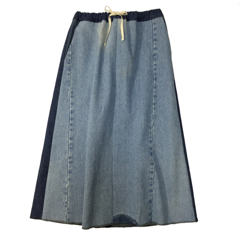 Denim Long Skirt⑧