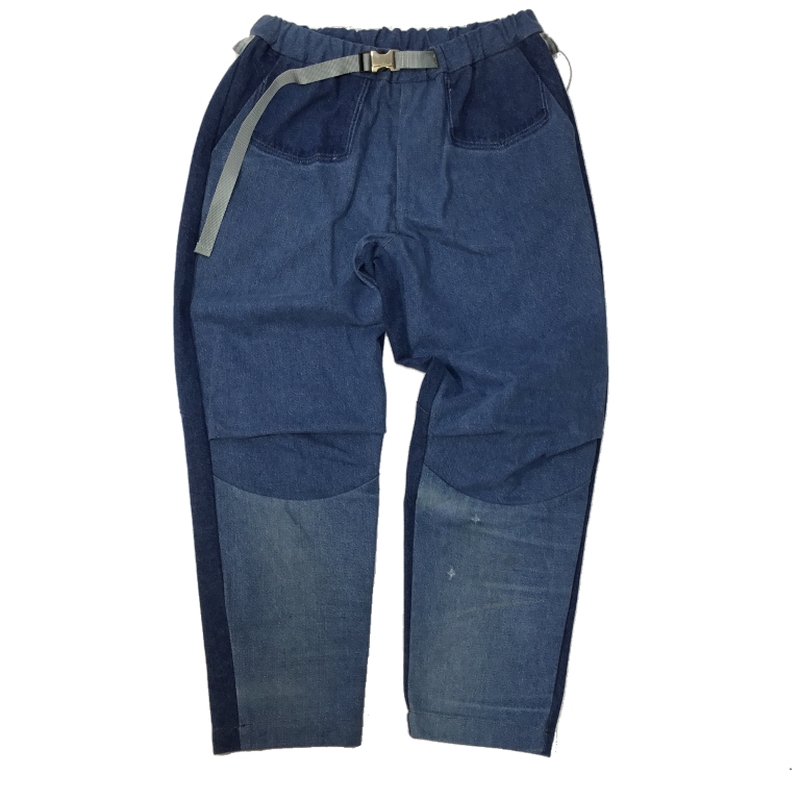 Tuck Denim Pants①/フリーサイズ
