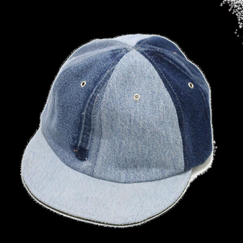 Short brim cap /Denim①