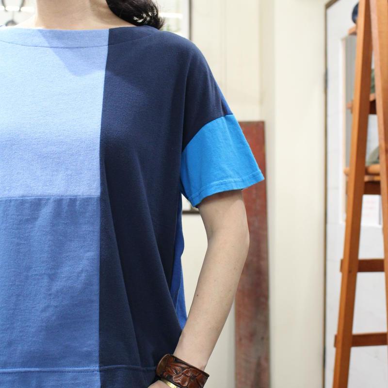 Patchwork Tee-Shirts ③/サイズフリー