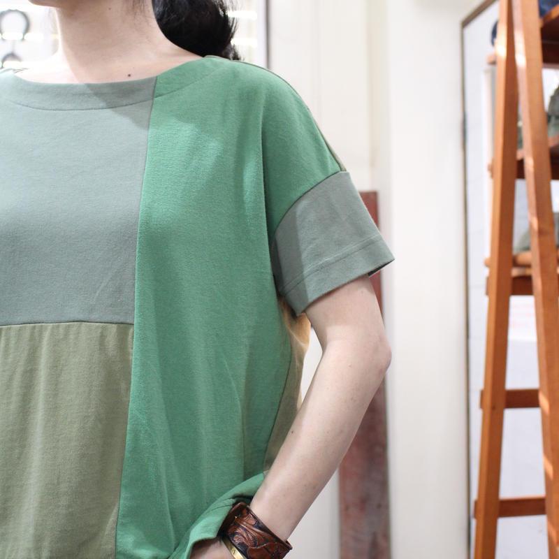 Patchwork Tee-Shirts ②/サイズフリー