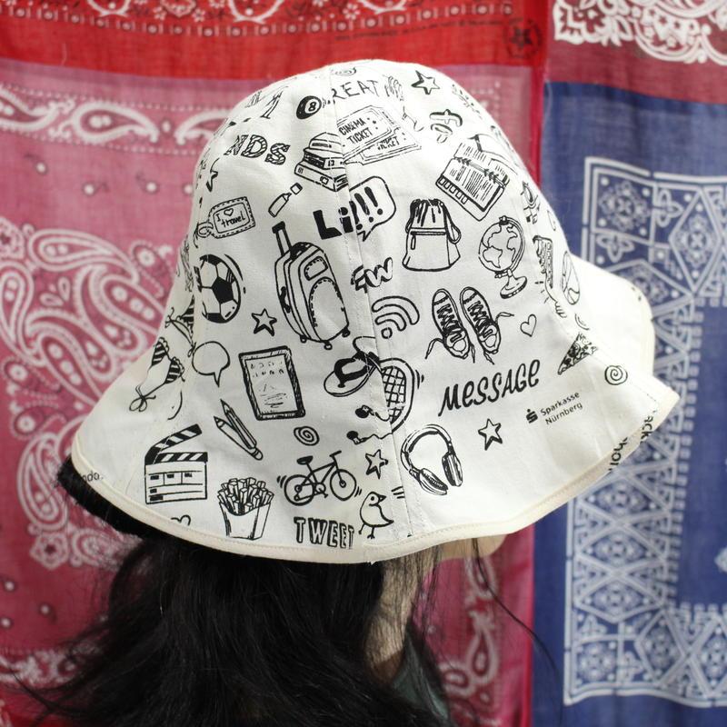 Eco-Tulip hat③/フリーサイズ