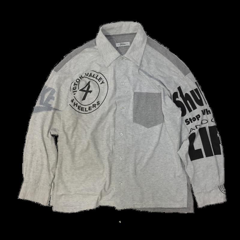 Print Tshirts - Shirts Long④/フリーサイズ