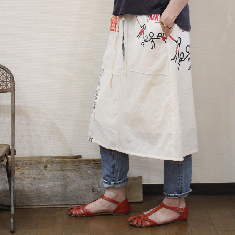 Eco-Gathered skirt⑤/フリーサイズ