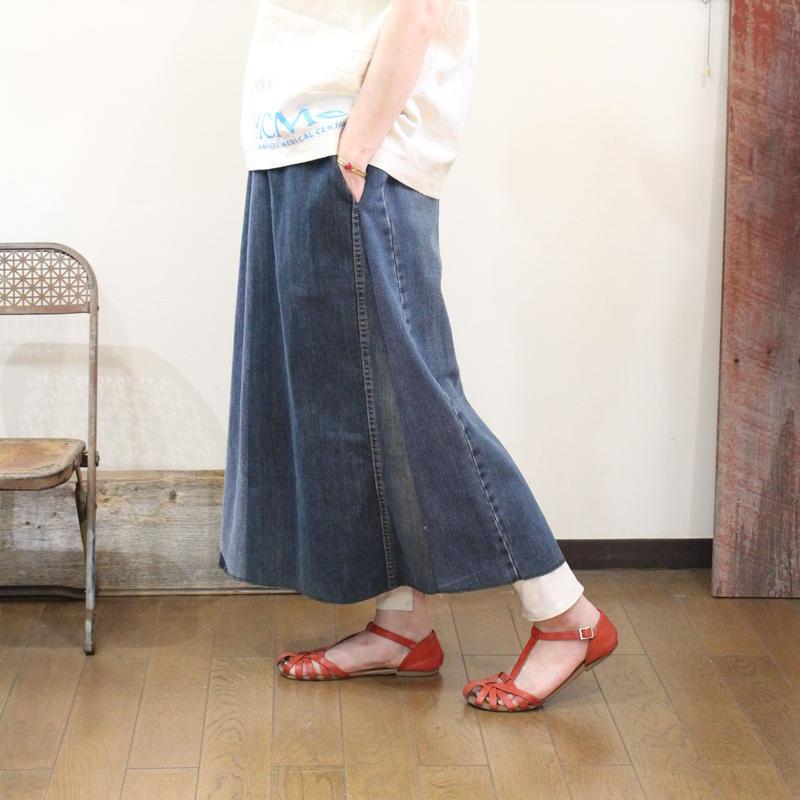 Denim Long Skirt③/フリーサイズ
